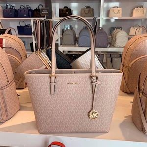 NWT MichaelKors Jet Set MD Carryall Tote
